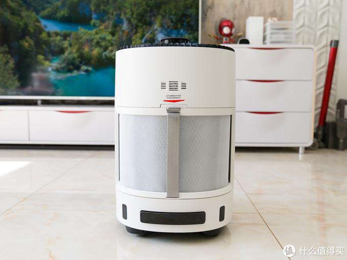 这才是空气净化器该有的样子,能看会走的科沃斯Andy沁宝空净机器人有啥不一样?