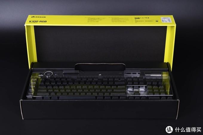 光轴0.25毫秒响应!把玩海盗船K100旗舰机械键盘