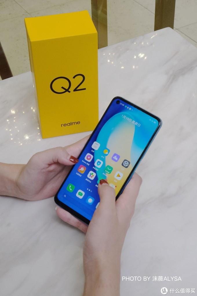 年轻潮流性价比优选,千元5G旗舰realmeQ2