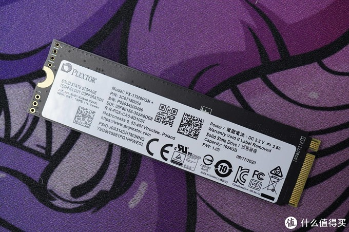 读取超3400MB/S!浦科特M9P Plus 1TB入手测试