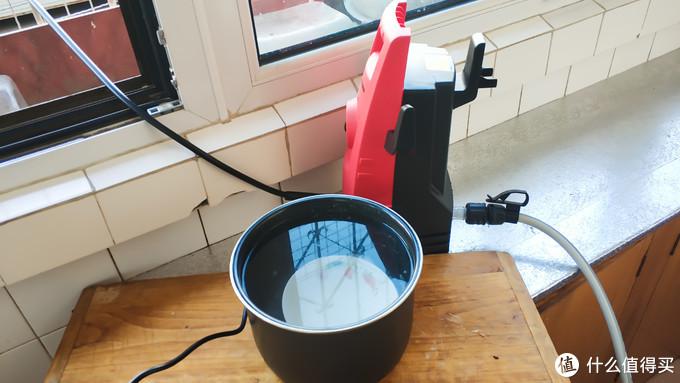好收纳,轻松洗:LUTIAN绿田 红魔 1400W 高压洗车机 使用体验