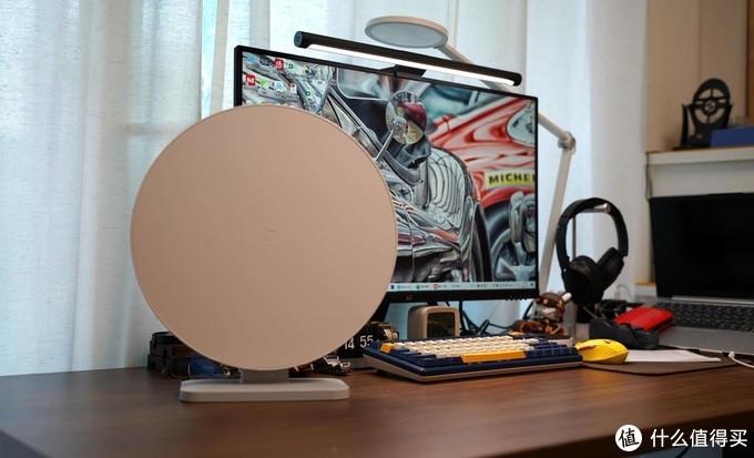 办公室的蓝天白云,米家桌面净化器使用体验