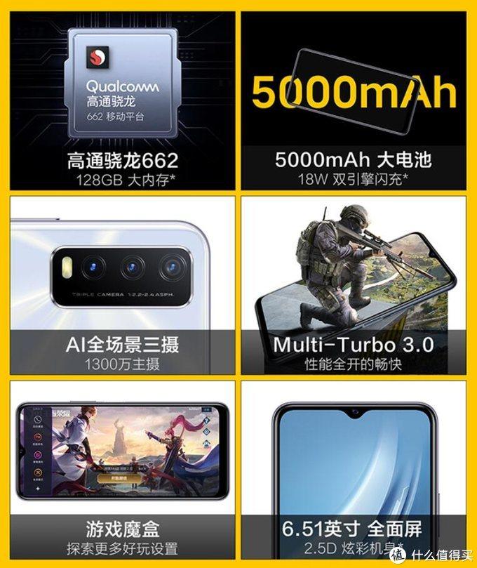 iQOO U1x上架预售:骁龙662+5000mAh,游戏魔盒