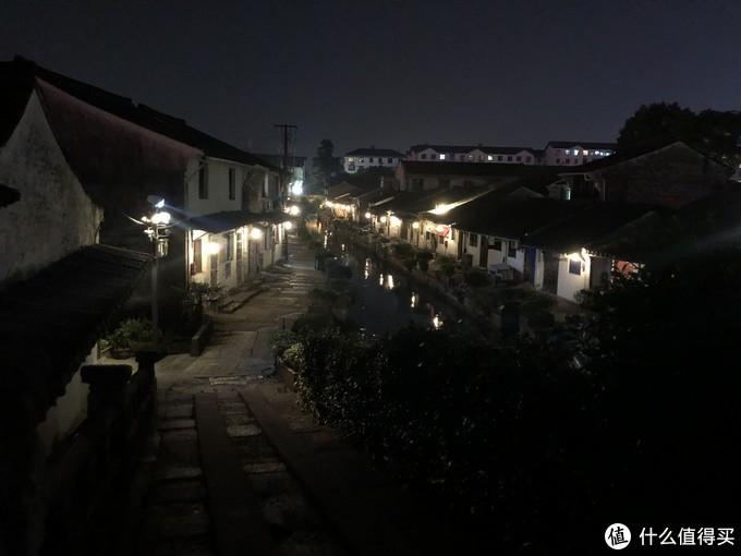 绍兴八字桥夜色