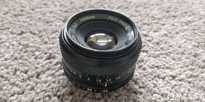 螺纹掠影(3):Fujinon 55mm F2.2