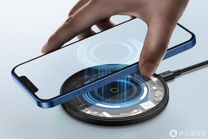 专为iPhone 12而设,倍思推出极简磁吸无线充电器
