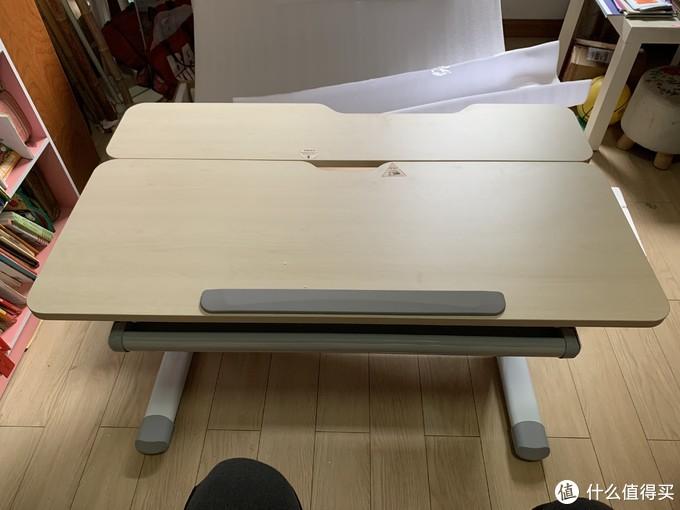 图书馆猿のJ.ZAO 京东京造 乔治 儿童可调节学习桌椅套装 简单晒