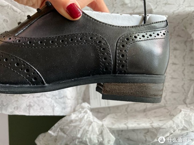 亚马逊会员日侥幸买到的clarks小码鞋,这样的风格有这双大概就够了吧