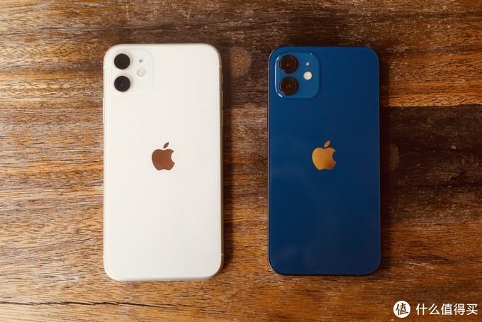对比白色iphone11