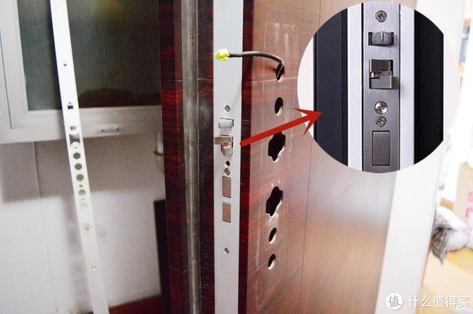 再见了霸王锁!我家的通体导向片户外门终于用上了小米全自动智能门锁!