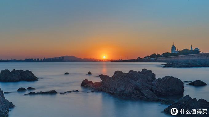 另一天风平浪静的夕阳