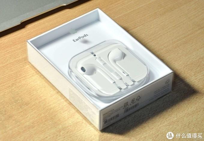 独立包装的EarPods,在5代到6s时会配送同款独立塑料收纳盒