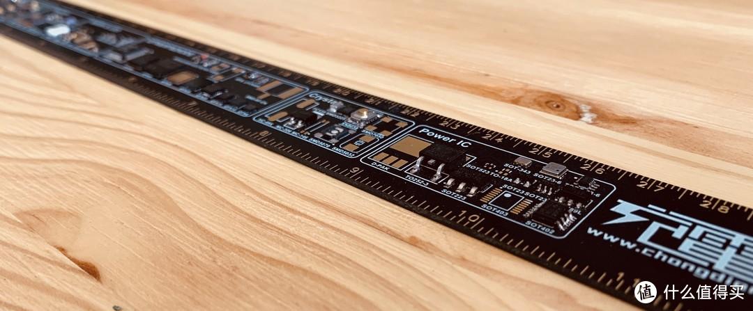 """一把值得收藏的""""尺子"""",充电头网PCB测量尺评测"""