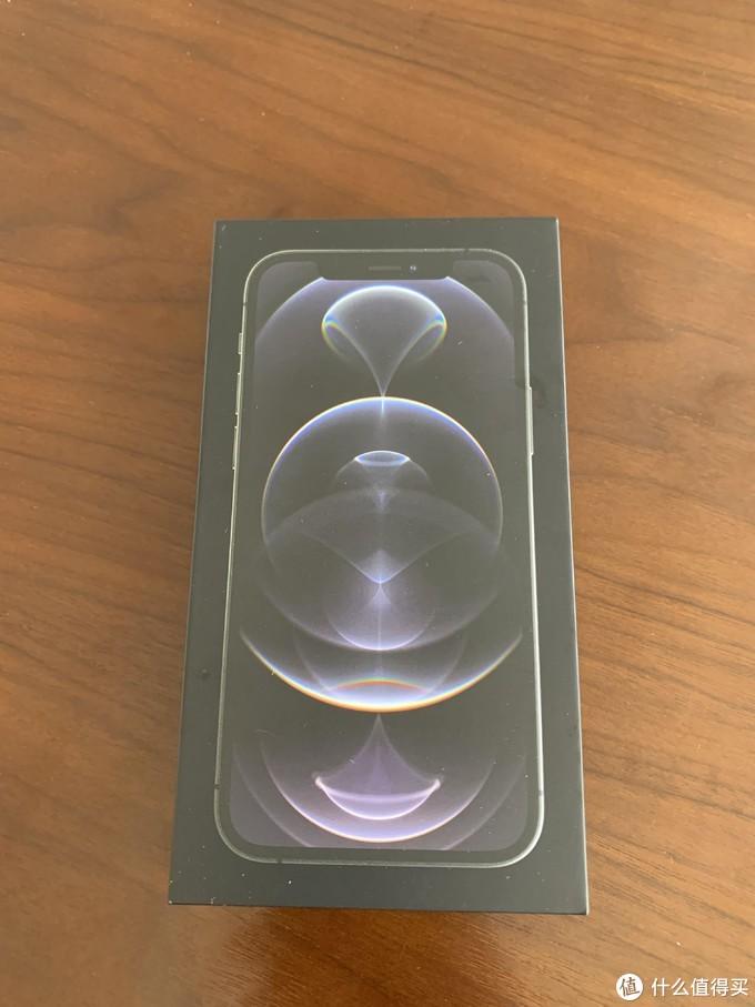 IPHONE12 PRO手机盒子正面照