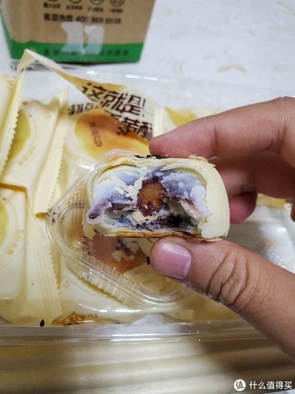 天猫超市四块八买一盒 三只松鼠蛋黄酥320g 开箱