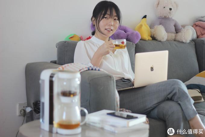 幸福感小家电分享:可以泡茶的即热饮水机,要不要试试?