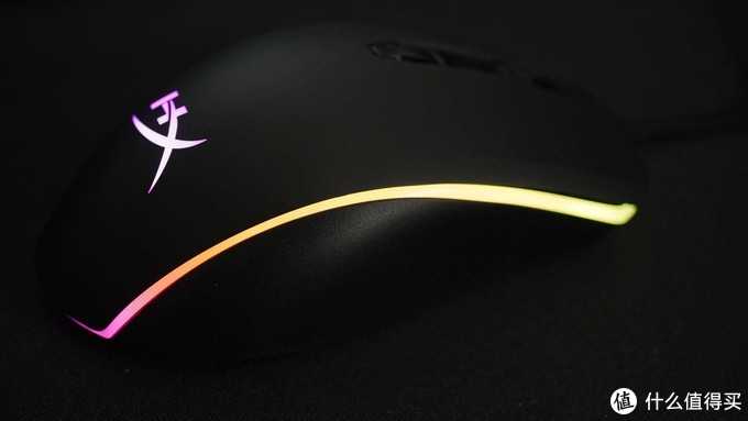 强大不张扬 - HyperX 巨浪 RGB游戏鼠标