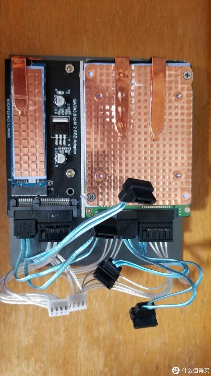 网友自发众筹定制J4125及4口2.5G软路由/小主机之三:改造为4盘作家用轻量nas用