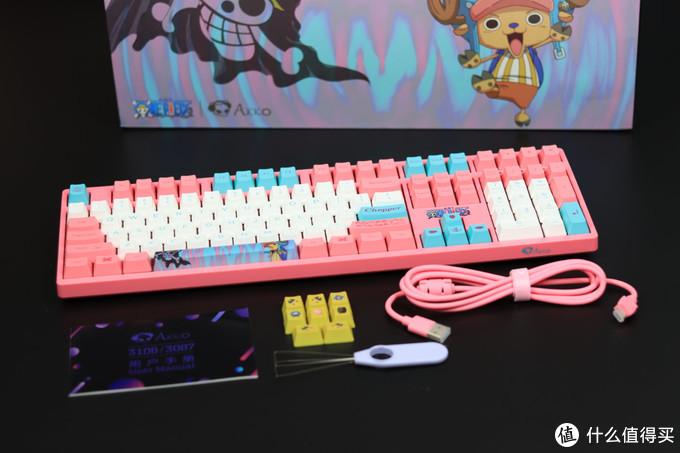 蓝鼻子的驯鹿 - Akko 3108V2 乔巴联名款机械键盘开箱分享
