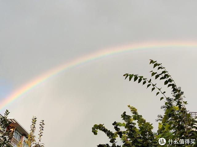 OPPO Reno拍的彩虹,记录足够,距离远影响画质。
