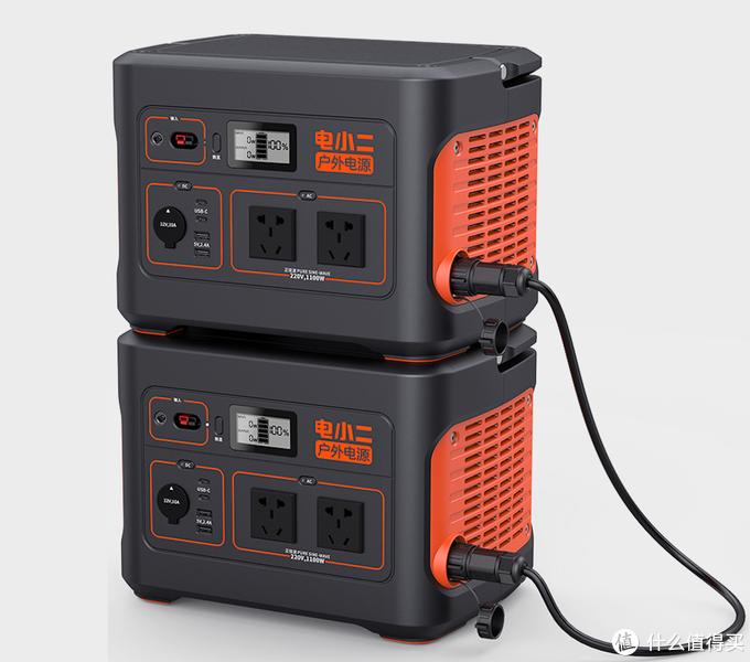 2020年重磅黑科技:2200W电小二户外电源1100Pro并联款来了