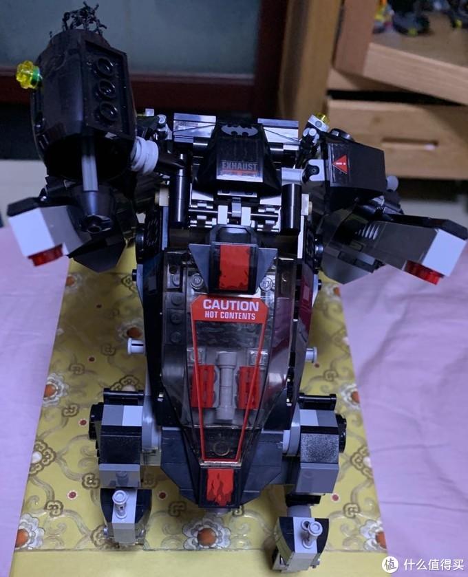 乐高蝙蝠侠大电影之70908蝙蝠爬行机甲