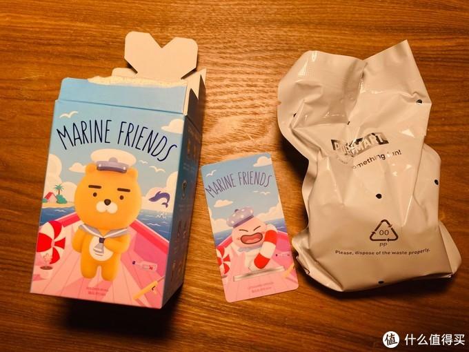 POPMART泡泡玛特 Kakao Friends航海系列盲盒公仔开箱分享