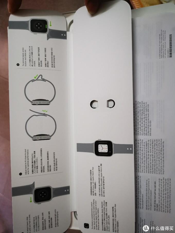 开箱晒晒。新款apple watch 6