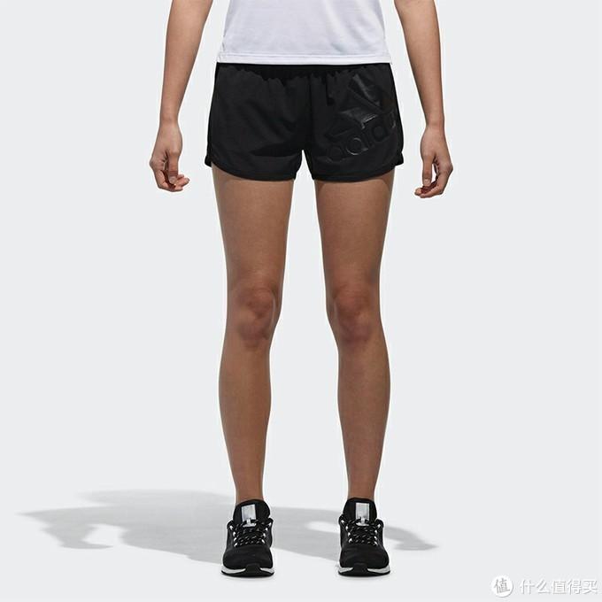 花40块钱买个Adidas女士三分裤,秒变女装大佬