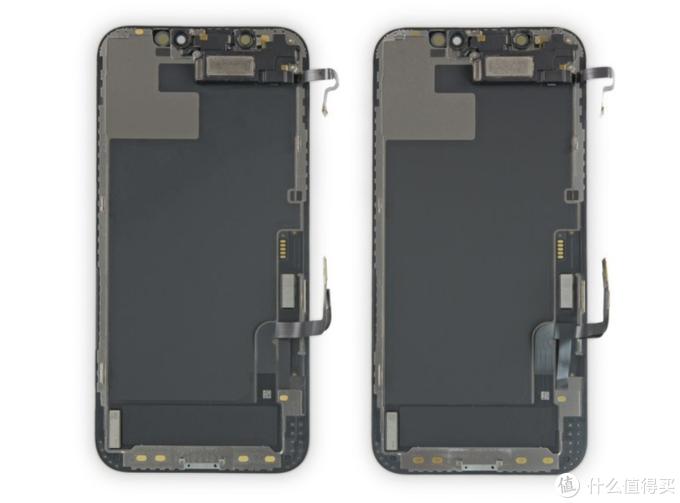 左边为iPhone12,右边为iPhone12 Pro