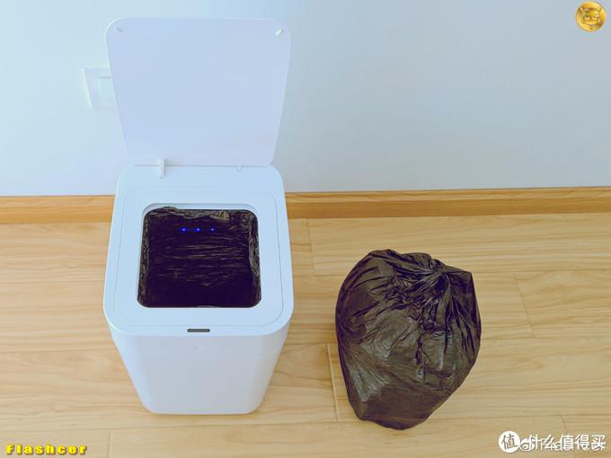 一键打包和自动换袋,省心省力懒人必备:拓牛智能垃圾桶T1体验
