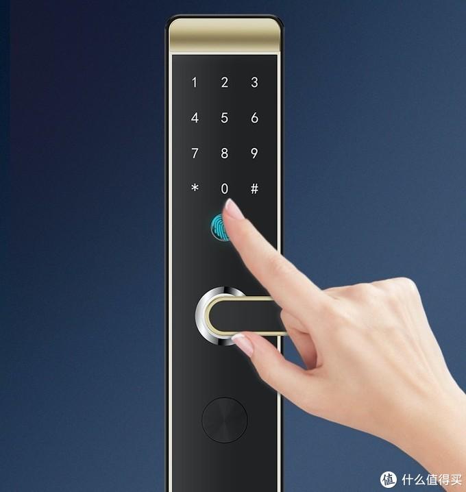 德施曼旗下品牌小嘀上新智能门锁K78,新一代FPC指纹头,防指纹残留技术,时尚又安全