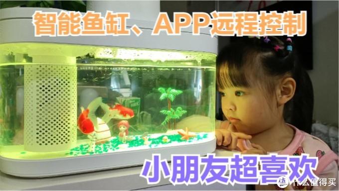 小米上架智能鱼缸,接入米家生态系统,出差旅游也能自动投放食物