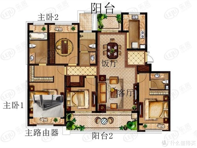 屋内平面图