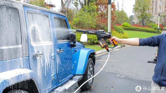 ↑自己动手洗车方便又快捷