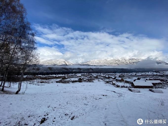 雪中禾木村