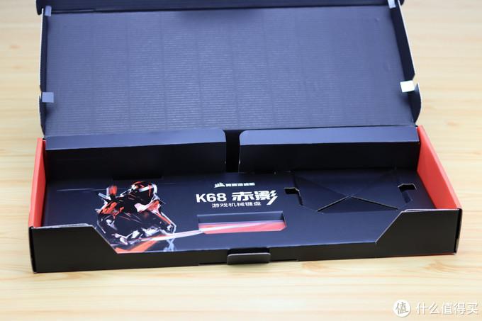 美商海盗船 K68SE 赤影 防尘防泼溅机械键盘开箱评测