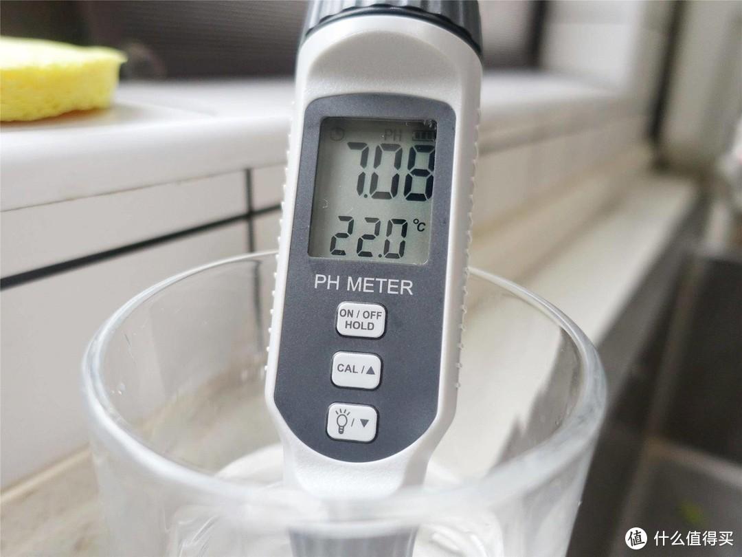 打开直饮水龙头,即可泡茶冲咖啡,美的净热一体机评测