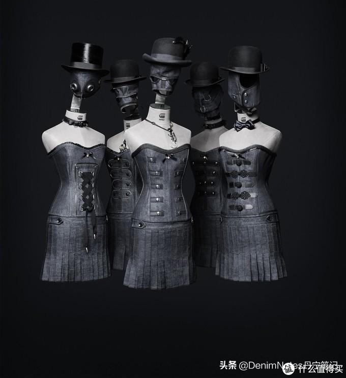 趣味人体模特,汇集现代与古代的元素。