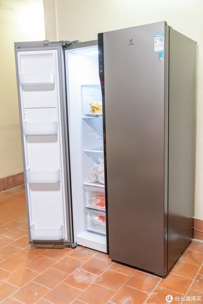 省电静音实用,性价比的冰箱本该如此:云米 598L 双变频对开门冰箱评测