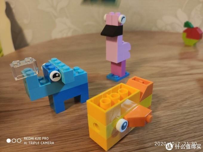 小孩子的小积木——lego肉箱晒单