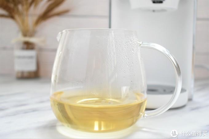 多段控温让你泡茶更格调,即烧即饮的鸣盏即热茶饮机你值得拥有
