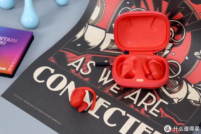 Skullcandy Push Ultra运动豆二代红色限量版体验:40小时续航+甩不掉的耳挂