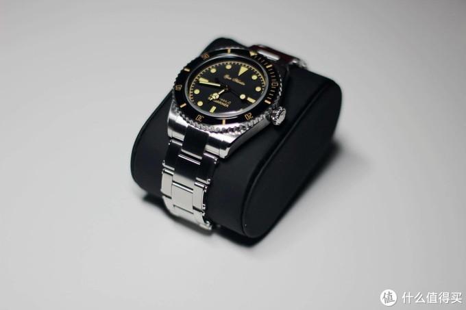 浓浓复古感,精致又亲民 - SAN MARTIN SN004复古自动机械潜水表
