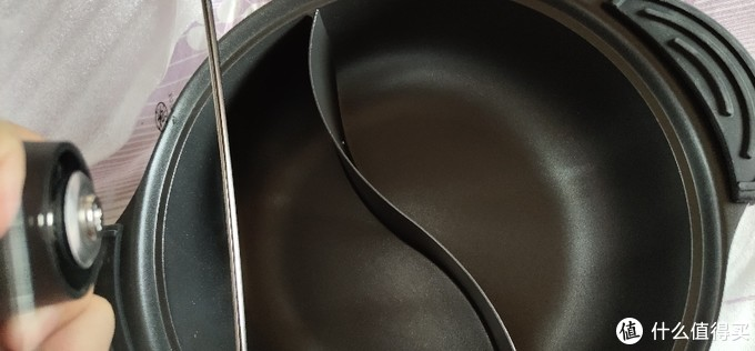 小米米家知吾煮鸳鸯锅火锅不粘锅家用电磁炉燃气煤气灶明火通用煮汤锅火锅