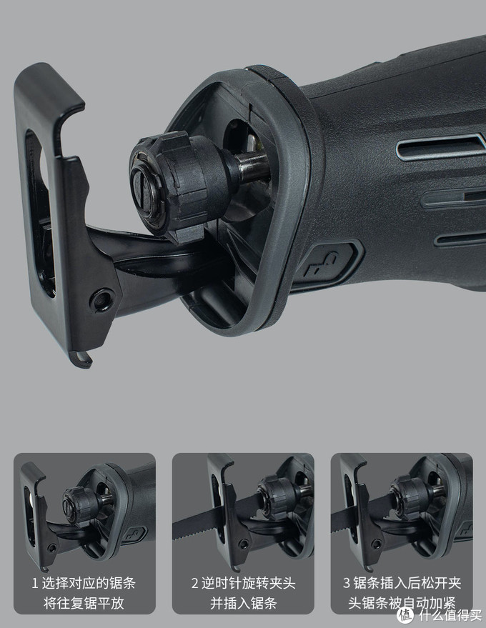 DIY达人必备:AKKU安酷20V锂电往复锯AK1761,木头、金属、pvc,切割快准狠