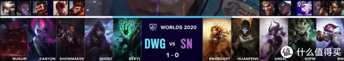 重返游戏:英雄联盟S10总决赛落下帷幕 DWG3:1击败SN斩获冠军