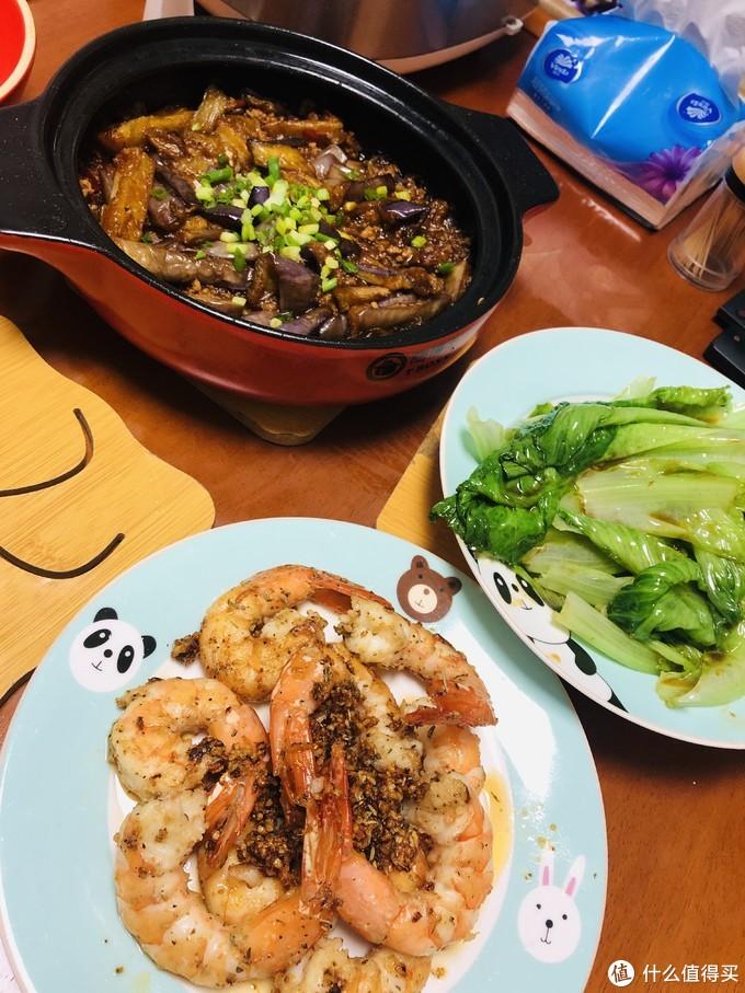蒜蓉黄油煎大虾