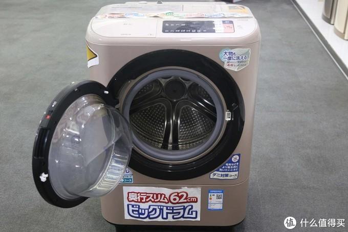 洗完就能穿?体验洗烘一体机日立BD-NX100GHC洗衣机
