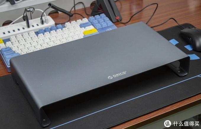 桌面增色,护颈之能:ORICO铝合金屏幕显示器支架开箱